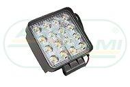 Lampa robocza LED kwadrat  10-30V/4000LM