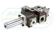 Rozdzielacz hydrauliczny 1-sekcyjny max przepływ 40L sterowany na linkę