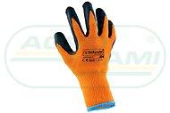 Rękawice Poliestrowe  Ocieplane 9 kpl.12par cena za opakowanie