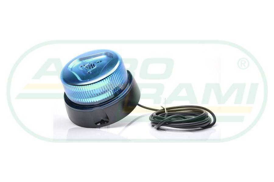 Lampa ostrzegawcza niebieska 12-24 V