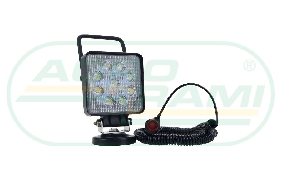 Lampa na magnes LED 10-30V/27W 2150Lm