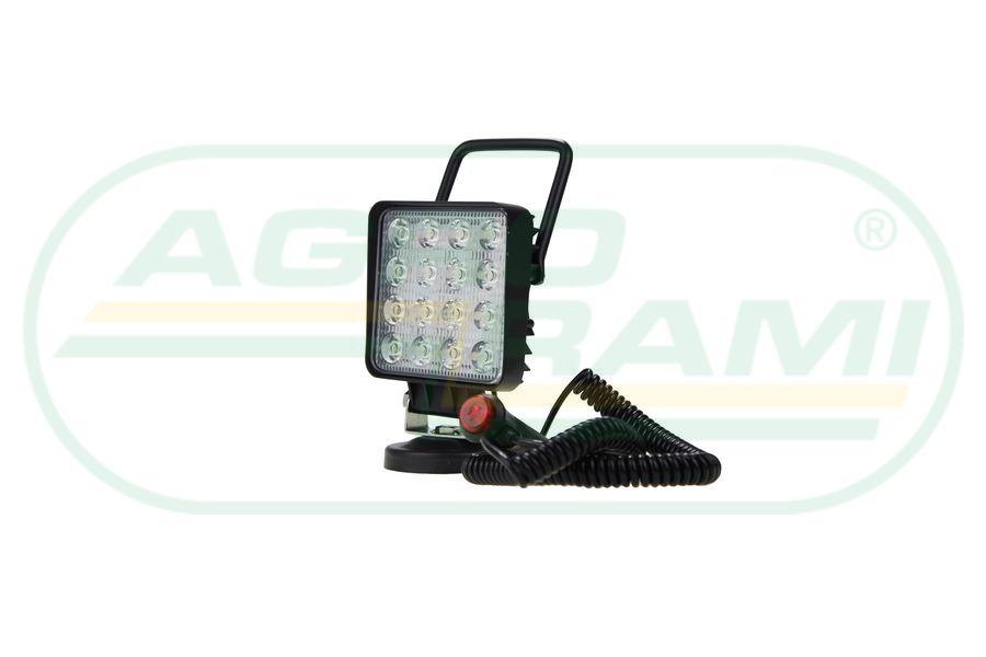 Lampa  na magnes 16 LED/48W