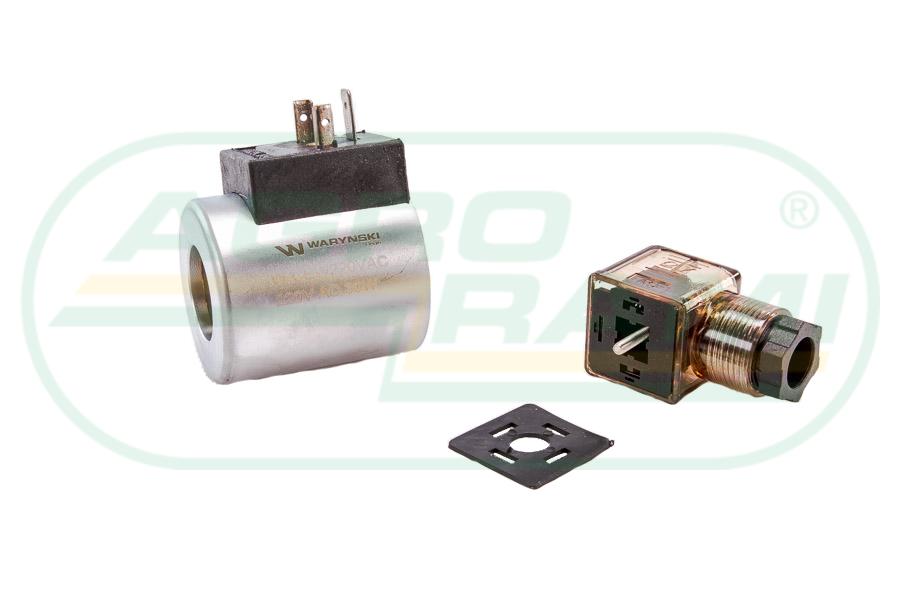 Cewka dzielnika elektrozaworu W-E38DVS6/2, W-E12DVS6/2 220V AC 30W
