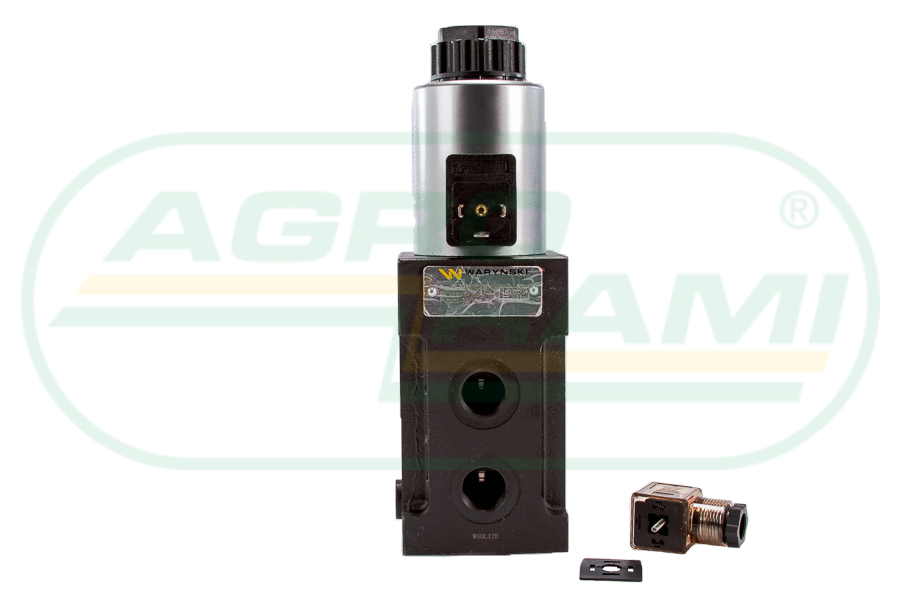 """Dzielnik, zawór, elektrozawór kierunkowy elektromagnetyvzny kontroli W-+E12DVS6/2-80L G1/2"""" 80L (24V DC)"""