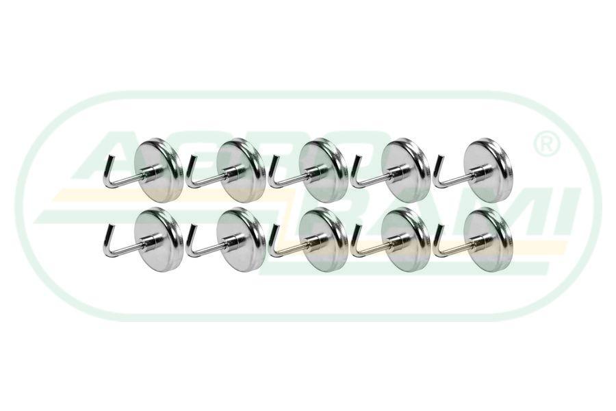 Haczyki magnetyczne (10 sztuk zestaw)